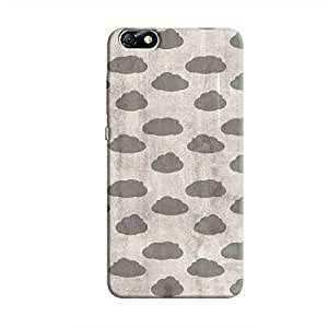 Cover It Up - Grey Clouds Honor 4X Hard case