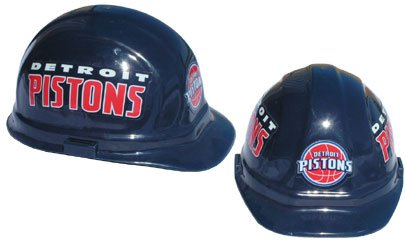 WinCraft NBA 2406651 Detroit Pistons Packaged Hard Hat 1