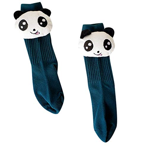 HYIRI 2018 NEW Kids Toddler Baby Girls Boys 10D Cartoon Panda Animal Anti-Slip Socks -
