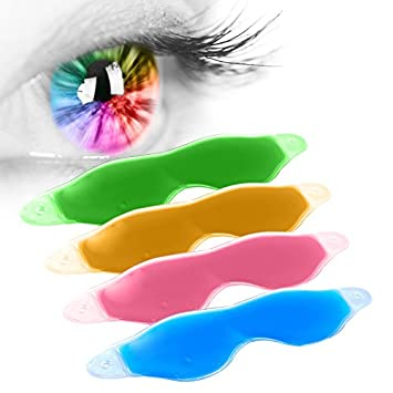 Hot / Ice Compress Gel Eye Care Eye Shield Lovely Pink Sleep Mask Sleeping Eye Mask