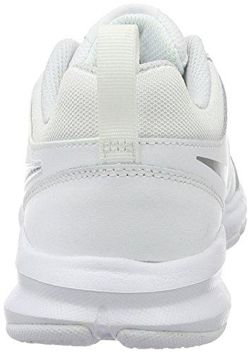 Nike Damen T-Lite Xi Low Top Schnürschuhe für Damen Weiß / Mtllc Slvr / Pr Pltnm / Blk