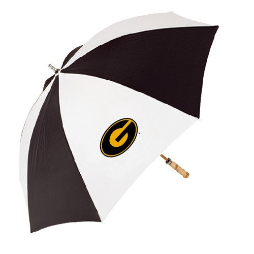 CollegeFanGear Grambling State 62 Inch Black/White Umbrella 'Official Logo' by CollegeFanGear