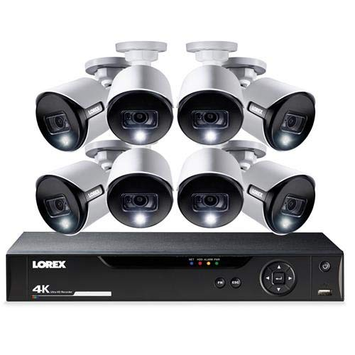 16-Channel 4K Ultra HD Security System with 8 Active Deterrence 4K ()