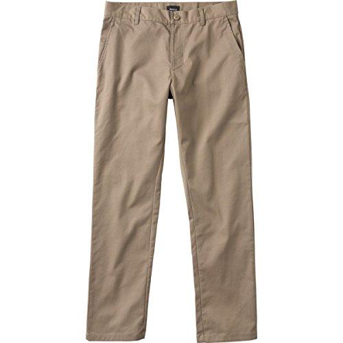 RVCA Weekend Stretch Chino Pants Dark Khaki Size (Stretch Weekend Chino Pants)