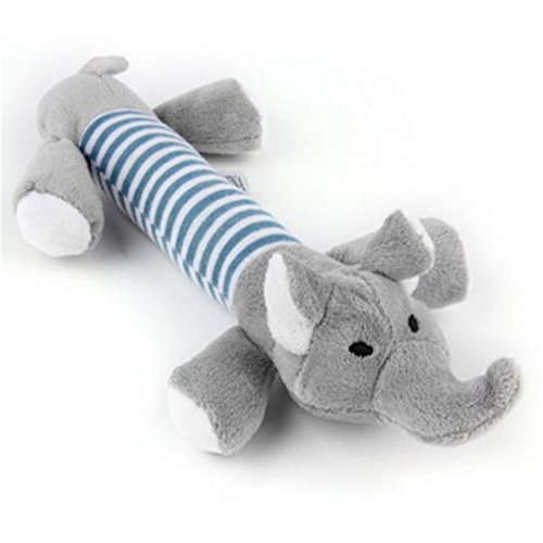 TraveT Plush Elephant Squeaky Sound