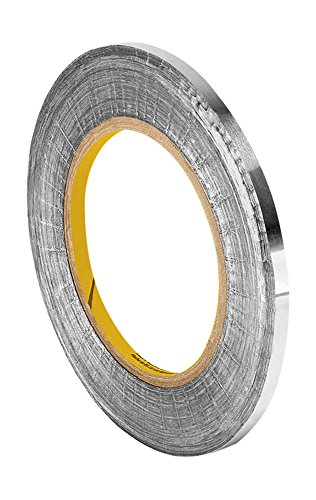 3M 1183 Tin-Plated Foil Tape, with Conductive Adhesive- 18 yds length, 0.438
