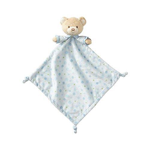 Beginnings by Enesco Plush Baby Bear Lovey Blanket, 16 inches, Blue