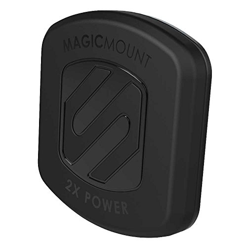 SCOSCHE MAGTFM2 MagicMount XL Universal Magnetic Phone/GPS/Tablet Flush Mount for the Car, Home or ()