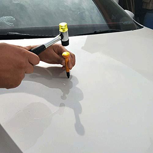SODIAL Tools Gold Aluminum Pen Tap Down Pen Paintless Dent Removal Pen For Dent Repair Tool Auto Hand Tools
