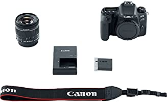 Canon EOS 77D + EF-S 18-55mm F/4-5.6 IS STM - Cámara Digital ...