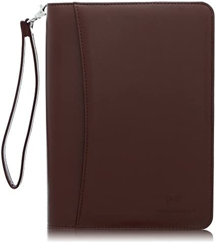 Junior Zippered Business Padfolio Notepad