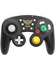 Hori Nintendo Switch Wireless Battle Pad (Zelda) Gamecube Style Controller - Nintendo Switch Accessories - Zelda Edition
