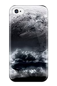 Ideal JudyRM Case Cover For Iphone 4/4s(amazing Rise Space ), Protective Stylish Case