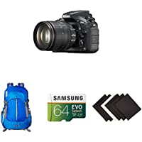 Nikon D810 FX-format Digital SLR w/ 24-120mm f/4G ED VR Lens w/ AmazonBasics Accessories