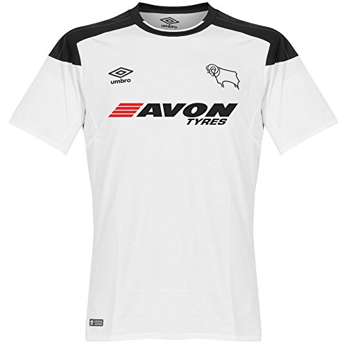 Derby Jersey - Umbro Derby County Home Jersey 2017/2018 - M