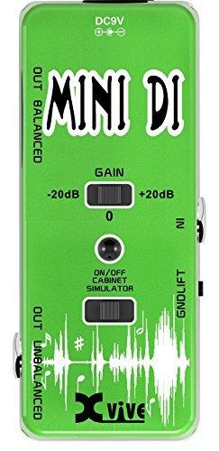 【お気に入り】 XVive Bass XVV13 Low Distortion Mini B076YZTPJT DI Direct Direct Box for Bass or Guitar [並行輸入品] B076YZTPJT, 港区:9dbc55cd --- a0267596.xsph.ru