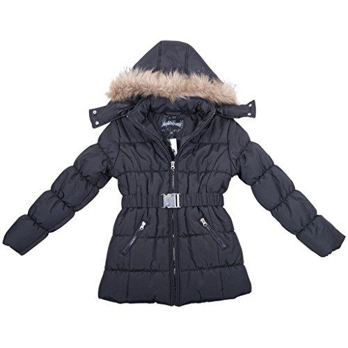 39759dh-typicalblack-10-12-girls-puffer-jacket-zip-up-warm-coat-hood-belt