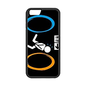 funny portal 2 comics iPhone 6 Plus 5.5 Inch Cell Phone Case Black DA03-275637