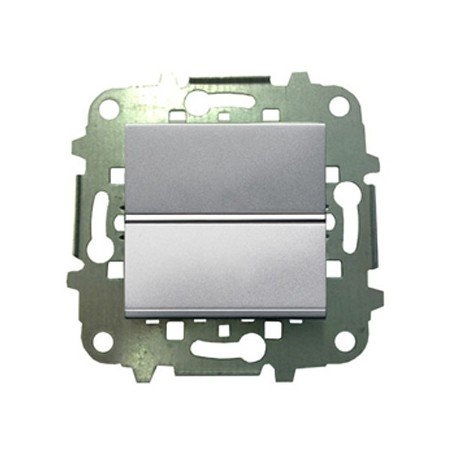 Niessen Zenit–ZENIT Schalter Bipolar 2Module Silber