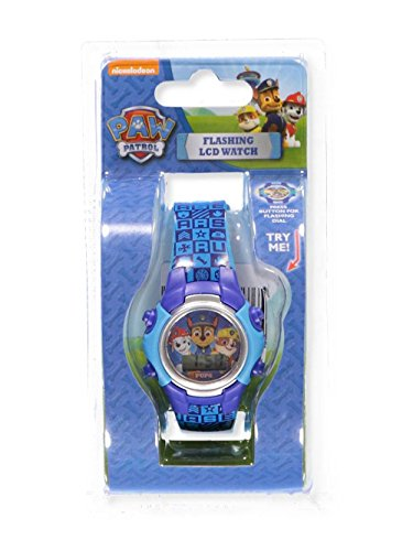 Disney Paw Patrol Flashing LCD Watch - Colors as Shown, one Size