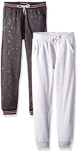 72ba4336160 Freestyle Revolution Girls  Big Active Sport Fleece Jogger Pants (2 Pack)