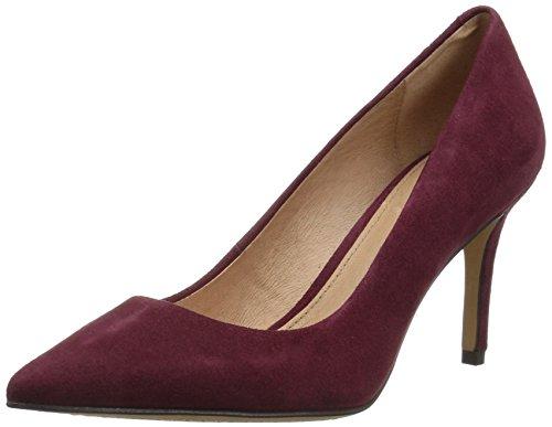 Womens Burgundy Shoes (206 Collective Women's Mercer Dress Pump, Burgundy, 9 B US)