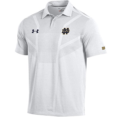 Under Armour NCAA Notre Dame Fighting Irish Men's Sideline Tour Coaches Polo, X-Large, (Coaches Sideline Polo)