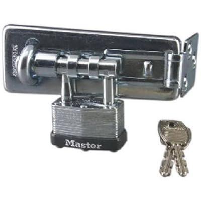 Master Lock 450D Warded Padlock & Hasp