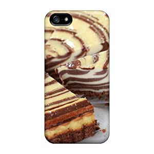 TinaMacKenzie Snap On Hard Cases Covers Marble Cheesecake Protector For Iphone 5/5s