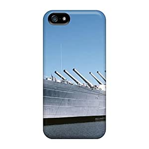 Iphone 5/5s Case Slim [ultra Fit] Uss North Carolina Protective Case Cover