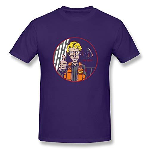 (GoDiao Men Radar Technician Limited Edition Jogging Short Sleeve Tshirt L)