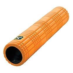 The GRID 2.0 Foam Roller EVA グリッドフォームローラー ロング 66cm 【オレンジ/黒/ピンク/ライム】 (オレンジ) [並行輸入品]