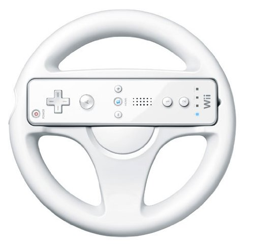 Steering Wheel for Ninitendo Wii Mario Kart Game