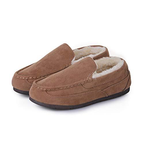 Modello Modello Modello a Cotone Donna Scarpe Scarpe Scarpe Paio calde Pesante da Scarpe Pedale Invernali di con in Khaki HCBYJ Pigro Scarpe qgZwO1xw