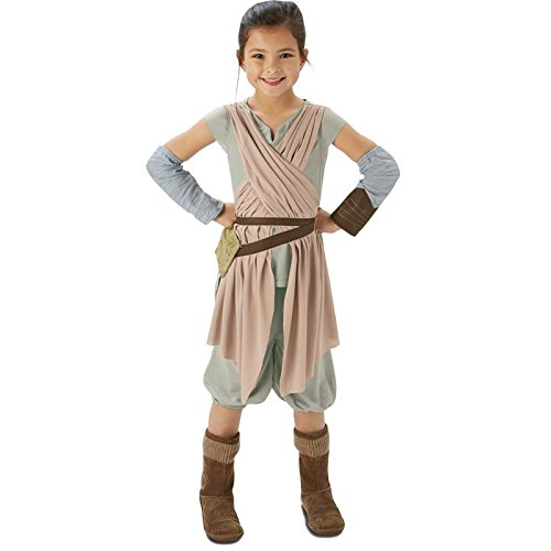 5eefe64442d Amazon.com: Star Wars - The Force Awakens ~ Rey (Deluxe) - Kids ...