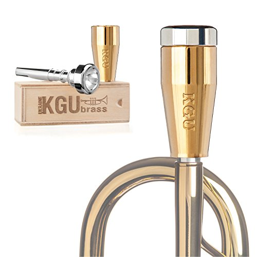 Trumpet Mouthpiece Booster- KGUBrass Custom Booster. Limited Edition (Custom Classic, Gold Plated ()