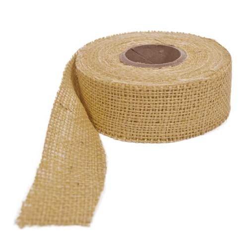 Burlap Ribbon - Natural, 1.5 Inch X 10 YARD Cleverbrand Inc.