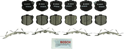 - Bosch BC1419 QuietCast Premium Ceramic Disc Brake Pad Set For 2006-2013 Chevrolet Corvette; Front