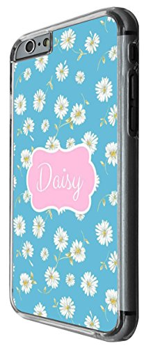 1172 - Floral Shabby Chic Multi Daisy Design For iphone 6 Plus / iphone 6 Plus S 5.5'' Fashion Trend CASE Back COVER Plastic&Thin Metal -Clear