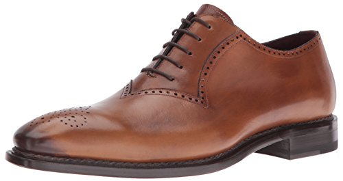 Mezlan Men's Fano Oxford, Cognac, 10 UK/10 M US