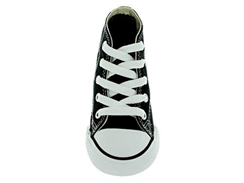 Black Taylor High Top Sneaker All Star Kids' Chuck Converse Canvas 1zAfOf