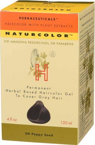Naturcolor 2N Poppy Seed Hair Dyes, 4 Ounce