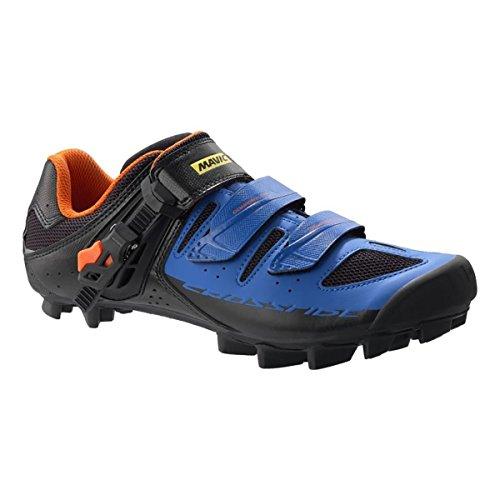 Mavic Crossride Sl Elite Schoenen, Zwart / Grijs / Oranje Zwart / Blauw / Oranje