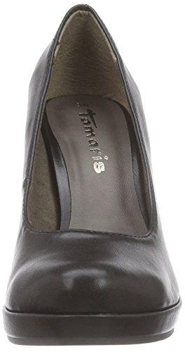 Tamaris 22426 - zapatos de tacón cerrados de material sintético mujer Negro (black matt 020)