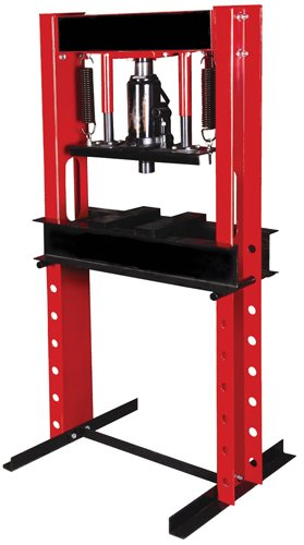 Nesco Tools 9720 Hydraulic Shop Press - 20 Ton Capacity by Nesco
