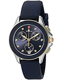 Michele Women's Cape Chrono Watch Navy Two-Tone