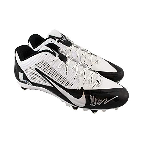 Marcus Allen Autographed Nike Football Cleats - BAS COA (White Low) (Marcus Allen Autographed Football)