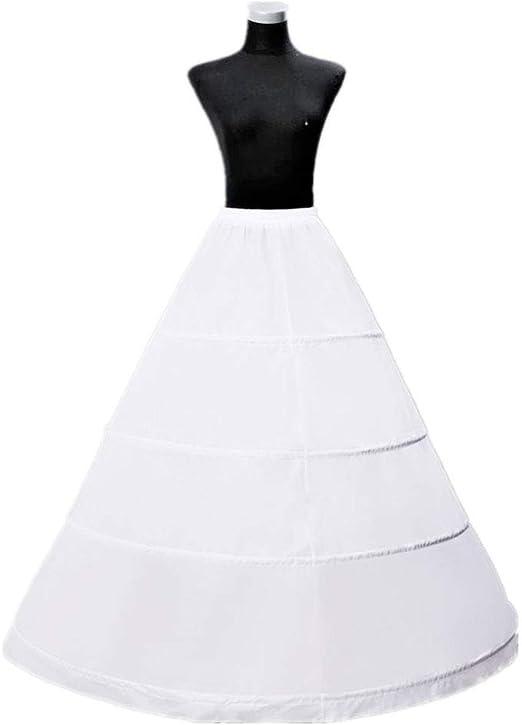 BINGHONG3 - Falda Larga para Vestido de Novia o Novia: BINGHONG3 ...