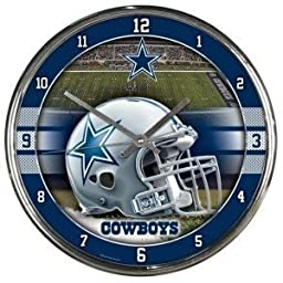DALLAS COWBOYS ROUND CLOCK