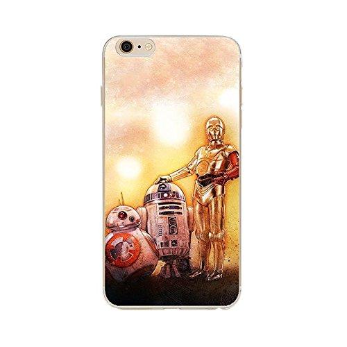 11 opinioni per iPhone 6/6s Star Wars Cassa del Silicone / Copertura del Gel per Apple iPhone 6s